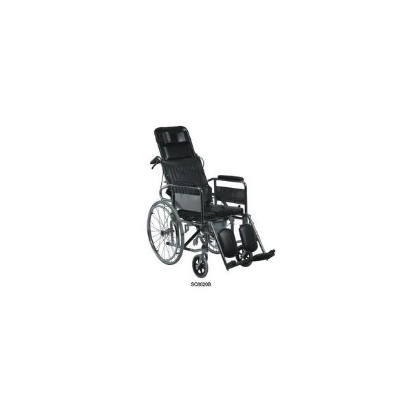 Reclining Commode Wheelchair Maximize. Cancel  sc 1 st  Bali One Care & Reclining Commode Wheelchair - Bali One Care islam-shia.org